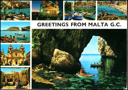Greetings from Malta G.C.