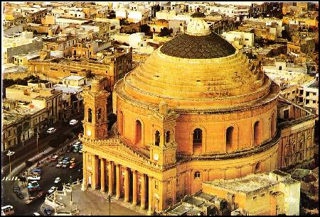The Mosta Church
